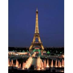 Educa Puzzle 1000 Par�a NEON EIFFEL TOWER PARIS