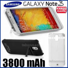 Samsung Galaxy Note 3 �arjl� K�l�f POWERBANK N90