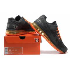 Nike Air Max Spor Ayakkab� - Gym Black-Orange