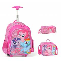 My Little Pony Okul �anta �ek�ek lux full set