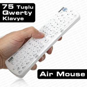 Dark Hareket Sens�rl� Air Mouse Klavye (OUTLET)