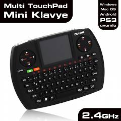 Dark PC PS3 Android Mini Mouse Klavye (OUTLET)