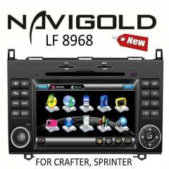 Navigold Mercedes Sprinter / WV Crafter DVD TV