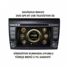 F�AT BRAVO TV-DVD-NAV-BT MULT�MED�A OEM