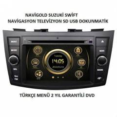 SUZUK� SW�FT  TV-DVD-NAV-BT MULT�MED�A OEM
