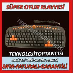 MULT�MEDYA GAMER GAME PC OYUN OYUNCU KLAVYES�