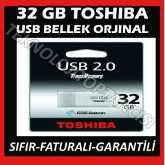 TOSHIBA 32 GB FLASH BELLEK USB HAYABUSA ORJ�NAL