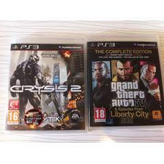 PS3 GTA4 L�BERTY C�TY + CRYS�S 2 T�RK�E