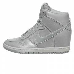 WOMENS DUNK SKY HI  CUT OUT PREMIUM GREY