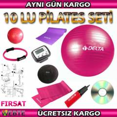 DELTA P�LATES SET� 10 LU - M�NDER TW�STER �EMBER