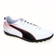 Puma Esquadra Tt White-Black-High Risk Red Erkek