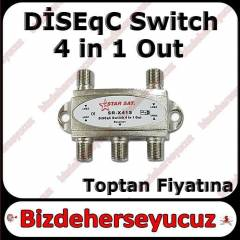 DiSEqC SWITCH DAYZEK 950-2400 Mhz 4 in 1 Out