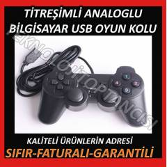 T�TRE��ML� USB OYUN KOLU ANALOGLU PC GAMEPAD
