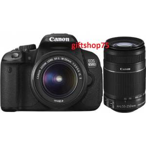 CANON EOS 650D 18-55+55-250 IS II Duble K�T