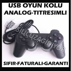 B�LG�SAYAR PC USB OYUN KOLU GAMEPAD ANALOG