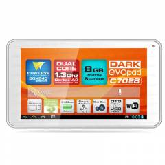 "Dark EvoPad C7028 7"" �ift �ekirdekli Tablet PC"
