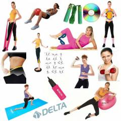 DELTA 14 L� P�LATES SET �EMBER M�NDER  65 CM TOP