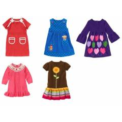 GYMBOREE ELB�SELER, 5 MODEL VE RENK, HEPS� 4 YA�
