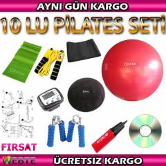 COSFER P�LATES SET� 10 LU - TW�STER D�SK KEMER