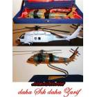 EL YAPIMI UH-60 BLACK HAWK METAL HEL�KOPTER