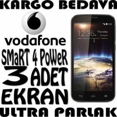 VODAFONE SMART 4 POWER EKRAN KORUYUCU FILM CLEAR