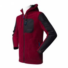 Cottonland CLIFF Erkek Polar Fleece Mont BORDO