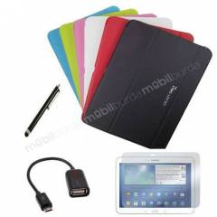 Samsung Galaxy Tab 4 K�l�f Book Cover 10.1 �N�