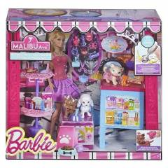 Barbie Malibu Caddesi Cafe Pet