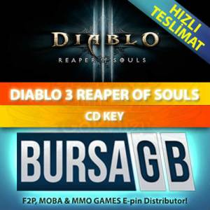 Diablo 3 Reaper of Souls Cd Key D3 ROS Epin Code