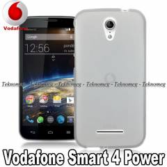 Vodafone Smart 4 Power K�l�f S�per Silikon TPU