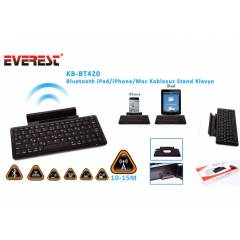 Everest KB-BT420 Siyah Bluetooth iPad/iPhone/Mac