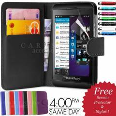Blackberry Z10 C�zdan KILIF BB10 Flip KILIF SET