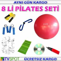 COSFER 8L� P�LATES SET� -TOP EL YAYI KELEBEK