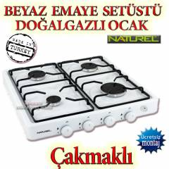 Naturel 104 �AKMAKLI DO�ALGAZLI Set�st� ocak