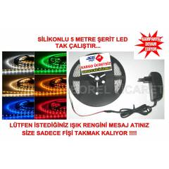 S�L�KONLU �ER�T LED-KOMPLE SET 5 METRE-LED SET