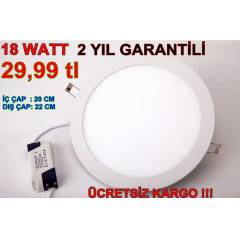 18 WATT LED PANEL -SL�M PANEL-LED SPOT 18W20W