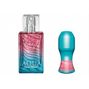 Avon Aqua For Her Edt 50ml Bayan 2'li Set