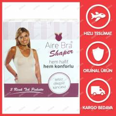 A�RE BRA SHAPER (S�YAH,BEYAZ,TEN) 3'L� SET