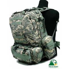 Military Tactical Backpack Bag Acu