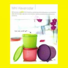 TUPPERWARE MİNİ KAVANOZLAR 3LÜ