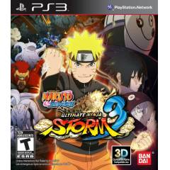 PS3 Naruto Shippuden Ultimate Ninja Storm 3 PAL