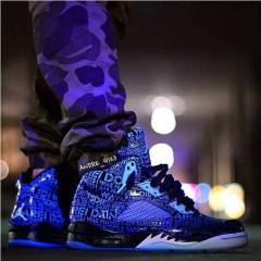 AIR JORDAN 5 RETRO DB DOERNBECHER GLOW INTHEDARK