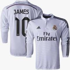 Real Madrid 2015 Uzun Kollu #10 James #7 Ronaldo