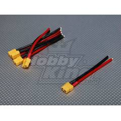 XT60 Female w/ 12AWG Silicon Wire 10cm