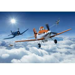 8-465 Planes Above the Clouds Komar Posteri