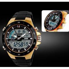 CASIO JAPAN MOVEMENT ANALOG - D�J�TAL ERKEK SAAT