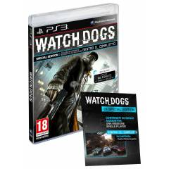 WATCH DOGS SPECIAL EDITION PS3 OYUN --SIFIR--