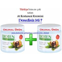 2 ADET HUNCA B�OTEN AT KESTANES� KREM� - 500 ML.