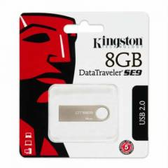 KINGSTON M�N� METAL 8GB USB BELLEK DTSE9H/8GBZ
