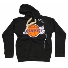 Los Angles Lakers NBA Kap�onlu Erkek Sweatshirt